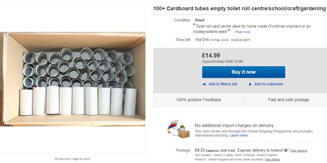Lõi giấy vệ sinh đang là