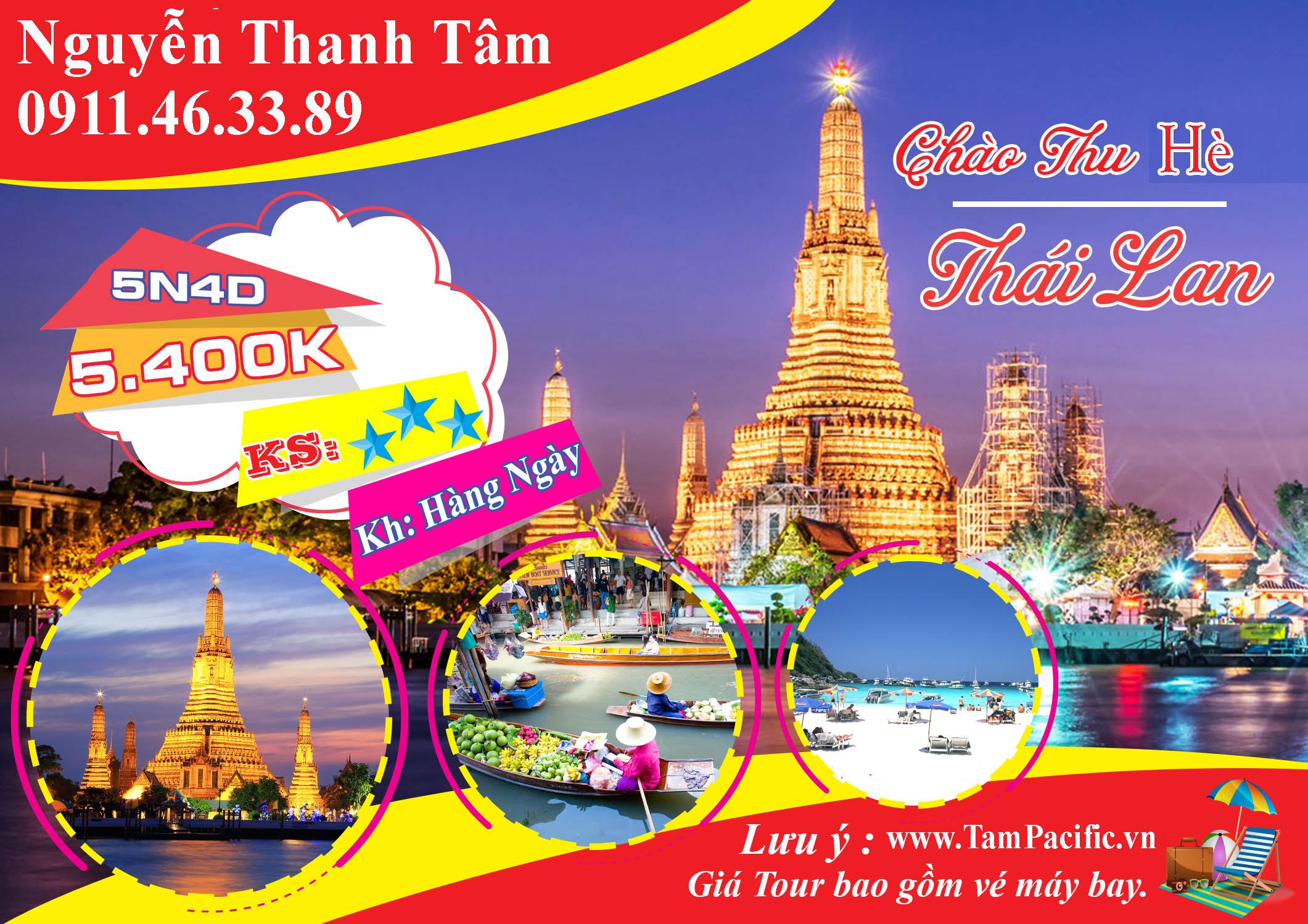 Du lịch Thái Lan mùa hè, phương án thích hợp cho gia đình nhỏ