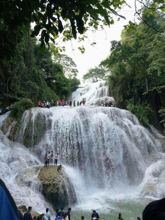 """Phát sốt"""" với thác nước đẹp như tiên cảnh ngay gần Hà Nội - Ảnh 7."""