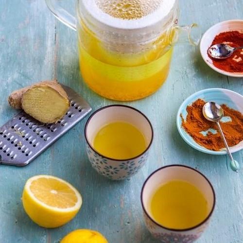 Da sáng dáng thon và tăng cường sức khoẻ cùng 4 công thức trà detox
