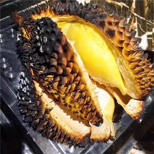Ngon mê li với món sầu riêng nướng