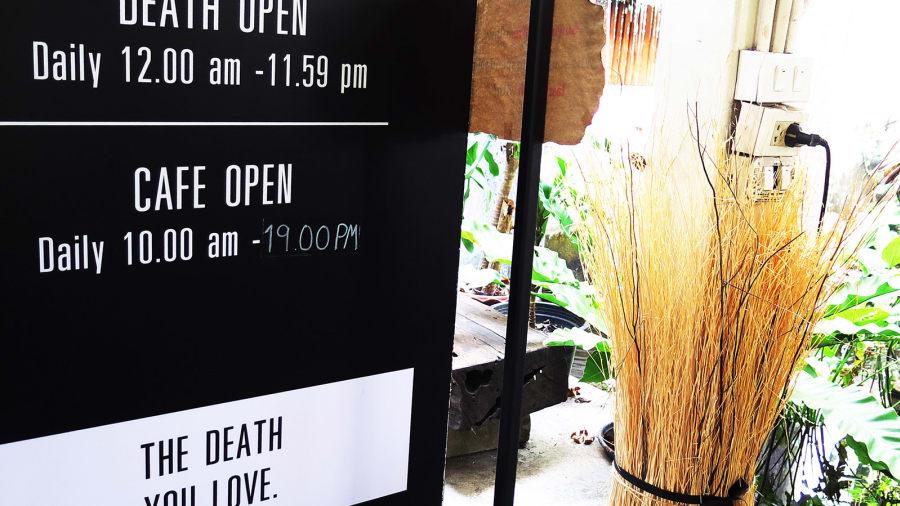 Trải nghiệm về cái chết trong tiệm cà phê quan tài độc nhất vô nhị