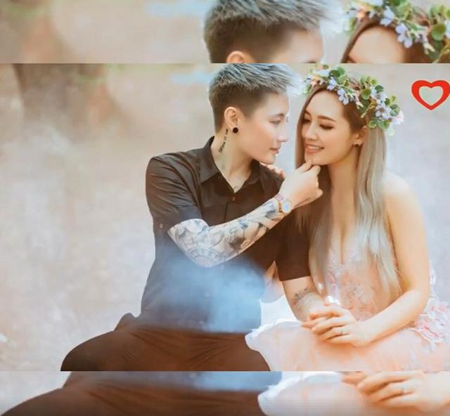 Cặp đôi còn từng chụp ảnh cưới