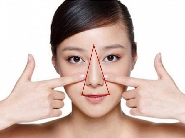 Tại sao không được nặn mụn ở vùng tam giác trên mặt?
