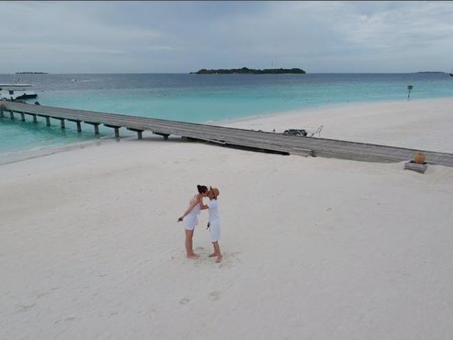 Xôn xao tin Cường Đô La và Đàm Thu Trang chụp ảnh cưới ở Maldives