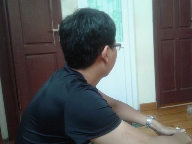 Anh Trương Văn Nhân, cậu ruột của nạn nhân đau buồn trước sự những lời đồn ác ý về cái chết của cháu mình.