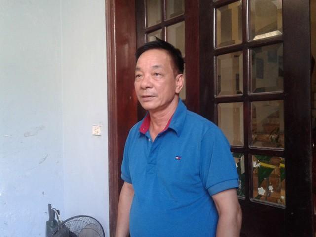 Ông Trần Văn Toàn (chủ nhà trọ) nơi Phạm Văn Đình ở.