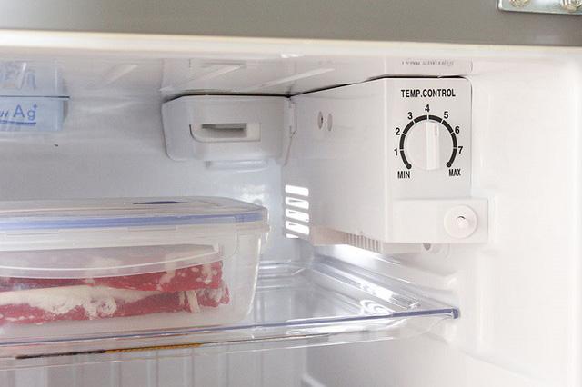 Đặt nhiệt độ tủ lạnh bao nhiêu thì hợp lý?