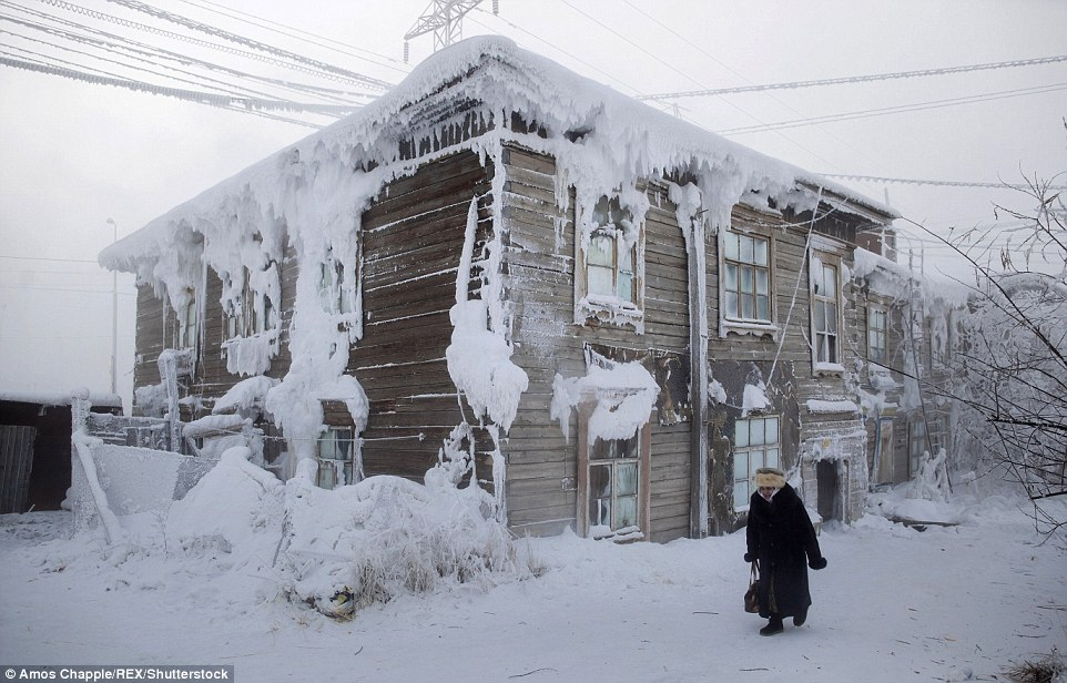 Người dân ngôi làng lạnh nhất hành tinh - 62 độ C sống thế nào?