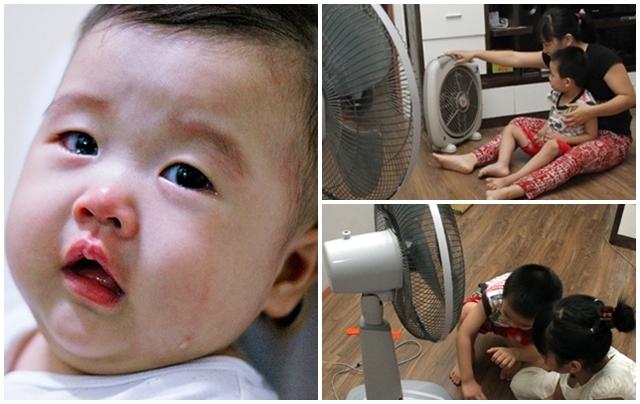 Sai lầm dễ mắc phải khi sử dụng quạt điện gây hại cho sức khỏe cả nhà