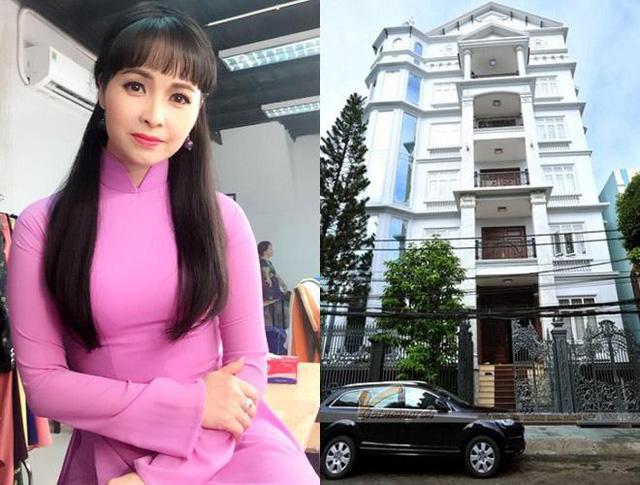 Căn nhà hơn 100 tỷ của gia đình Trang Nhung.