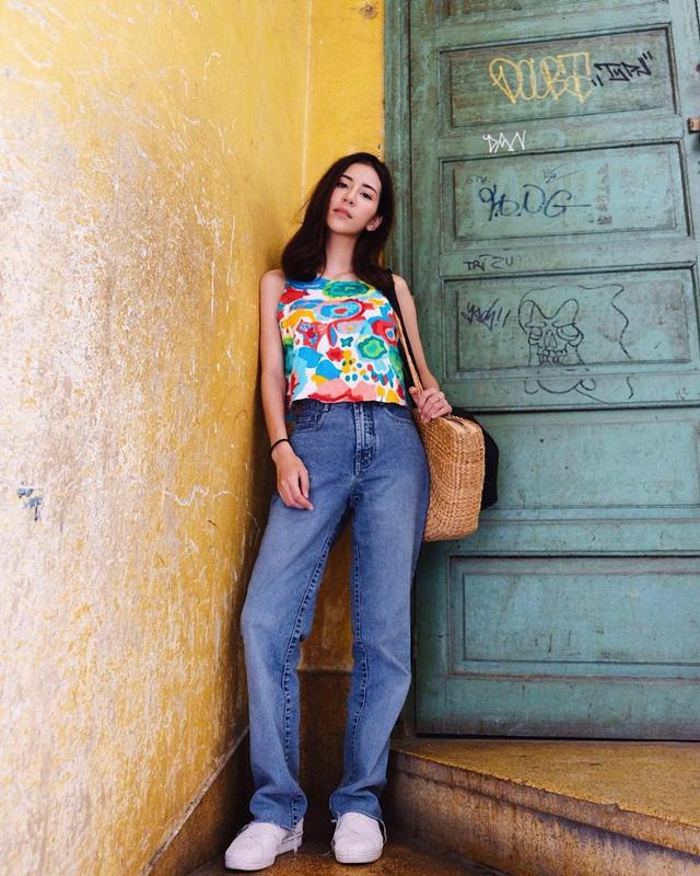 19 chiêu mix&match chất lừ với quần jeans ống rộng, cứ mặc lên là cao thêm cả