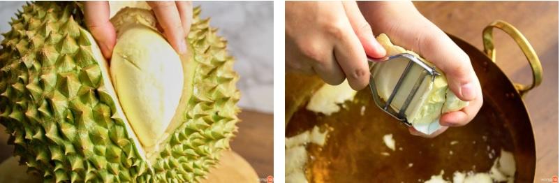 'Bỏ túi' cách làm sầu riêng chiên giòn ăn vào là mê