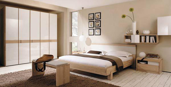 Cách bố trí phòng ngủ hợp phong thủy giúp vợ chồng sức khỏe dồi dào