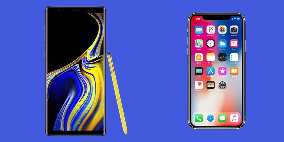 Hai điện thoại 1.000 USD