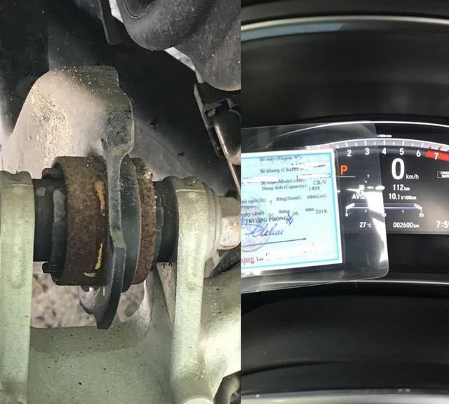 Honda CR-V 2018 bị nhiều khách hàng tố mới sử dụng vài tháng đã bị rỉ sét gầm