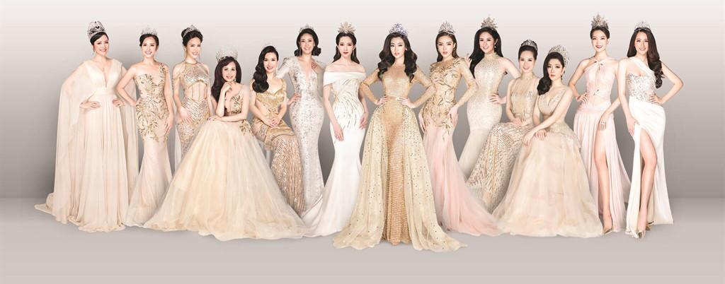 HOT showbiz: 14 Hoa hậu Việt Nam hội ngộ trong một bức ảnh