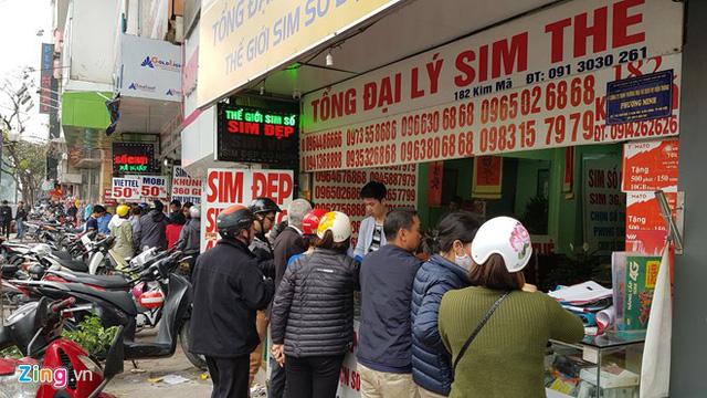 SIM 11 số tăng giá 5-10 lần chỉ sau vài tháng