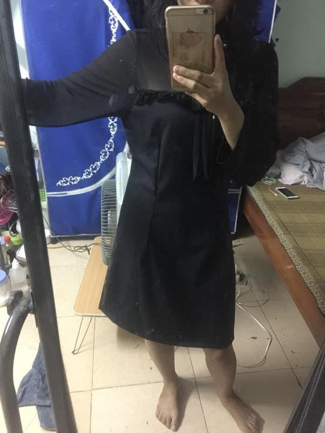 Chi 300k mua váy sang chảnh, đã phải nhận về chiếc giẻ lau