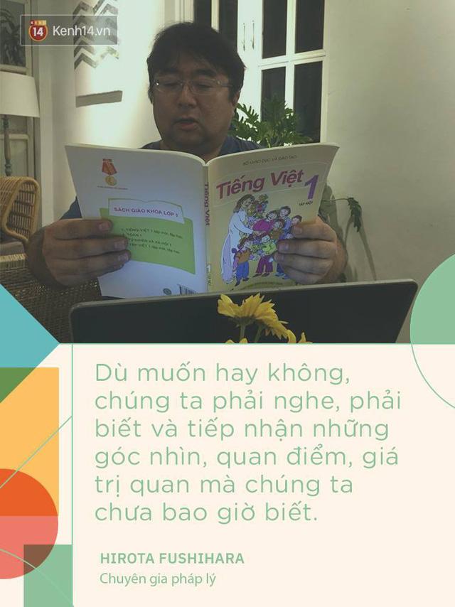 Chuyên gia người Nhật nói về bài đọc