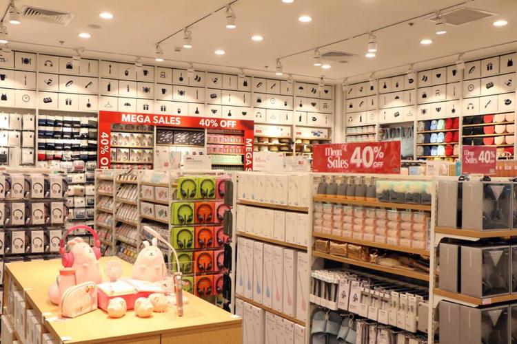 Miniso mập mờ thương hiệu Nhật Bản và Trung Quốc
