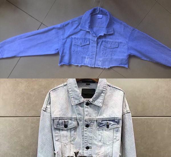 Mua khoác jean sành điệu giá 650k, cô gái nhận về áo mỏng như tờ giấy, dân tình nghi là đồ cũ cắt đôi đem bán