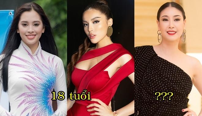 Những Hoa hậu đăng quang trẻ nhất Việt Nam