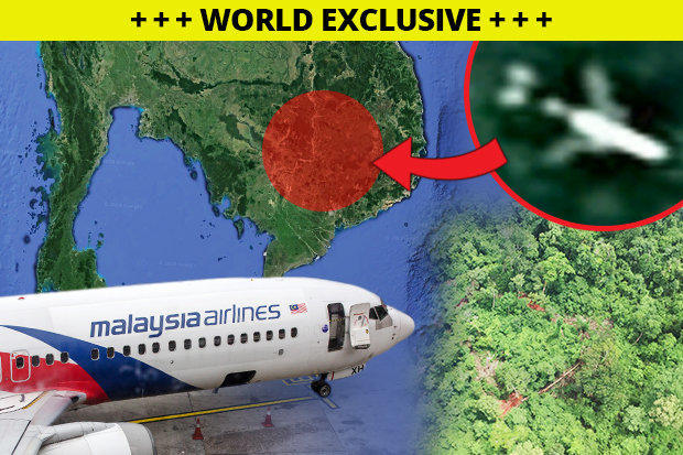 Sốc: MH370 trong rừng Campuchia đã bị bí mật mang đi bán
