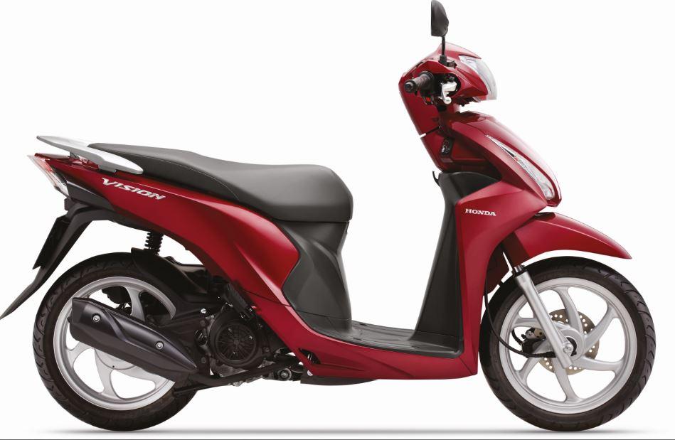 Tiếp tục 'gây bão' thị trường Việt trong tháng 8, Honda Vision có gì nổi bật?