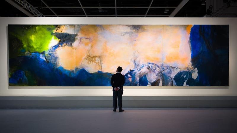 Đại gia bí ẩn chi hơn 1,4 nghìn tỷ đồng mua một bức tranh trừu tượng