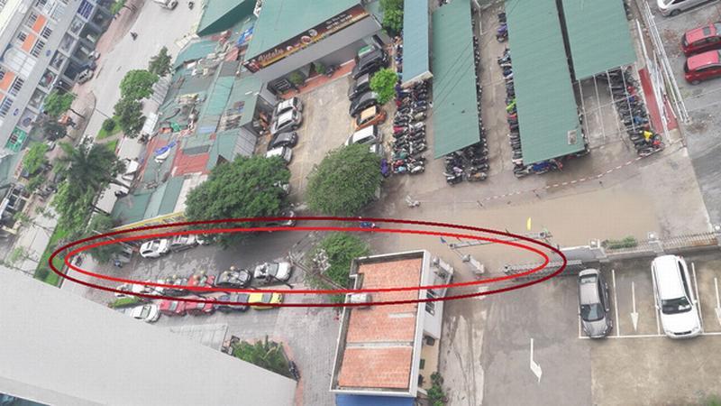 Hà Nội không đầu tư hạ tầng khiến cả ngàn cán bộ Bộ Y tế phải thuê đường vào (vùng khoanh đỏ suốt 5 năm qua.