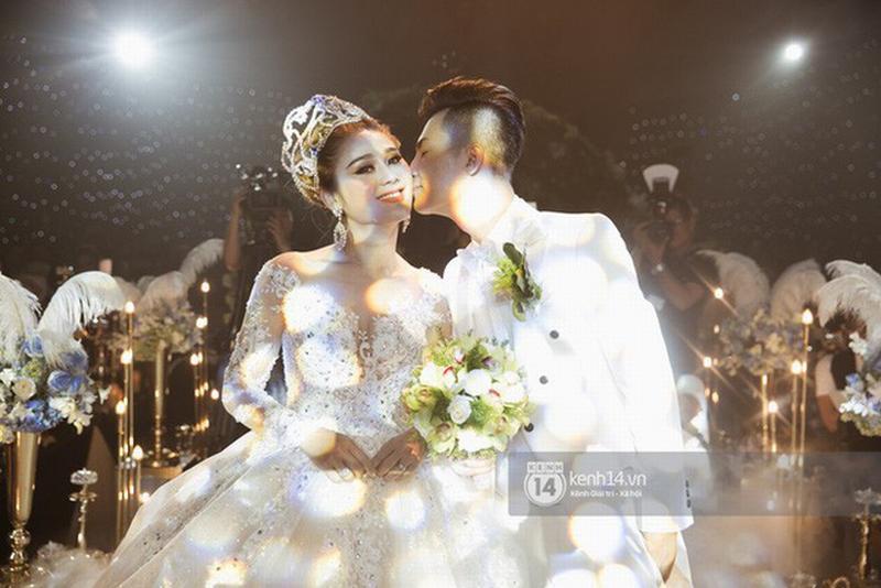 Đám cưới Lâm Khánh Chi hồi đầu năm 2018.