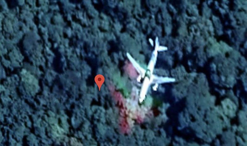 Phát hiện vị trí chính xác của MH370 trong rừng Malaysia