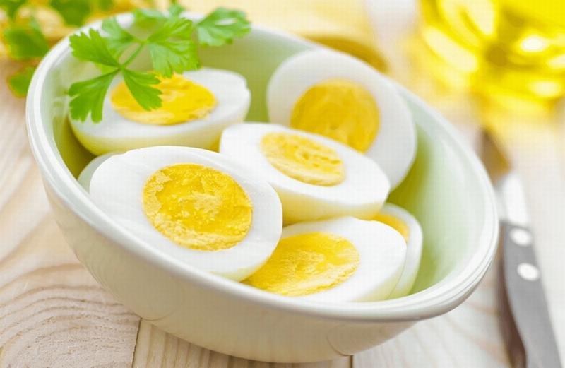 Trong 2 tuần có thể giảm vài kg chỉ với thực đơn trứng luộc thế này