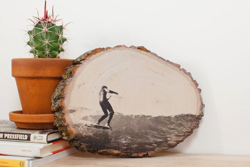 Cách làm tranh gỗ để bàn siêu xinh
